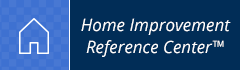 Horizontal Icon Logo for the Home Improvement Reference Center