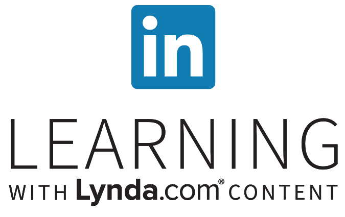Stacked full color logo for LinkedIn Learning